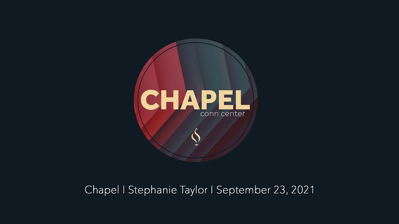 Chapel with Stephanie Taylor