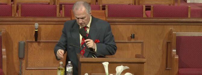 """Christian Responsibility"" Paster D.R Shortridge Sunday Evening Service 09/12/21"