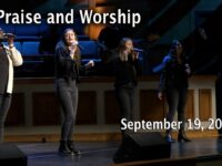 September 19, 2021 Praise and Worship